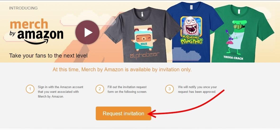 Merch от Amazon