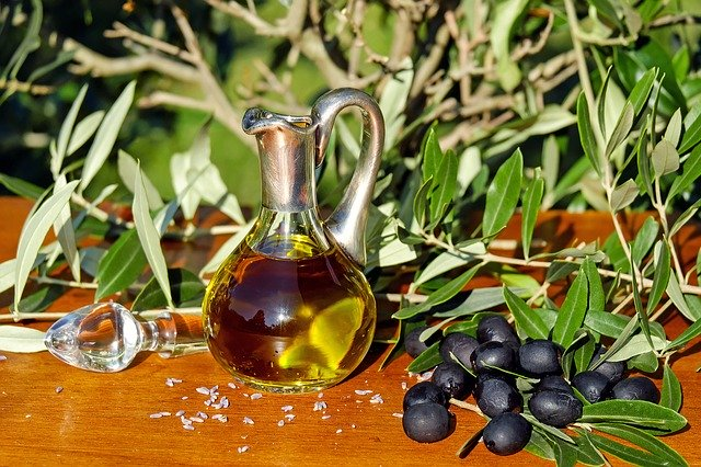 Оливковое масло первого отжима для увлажнения